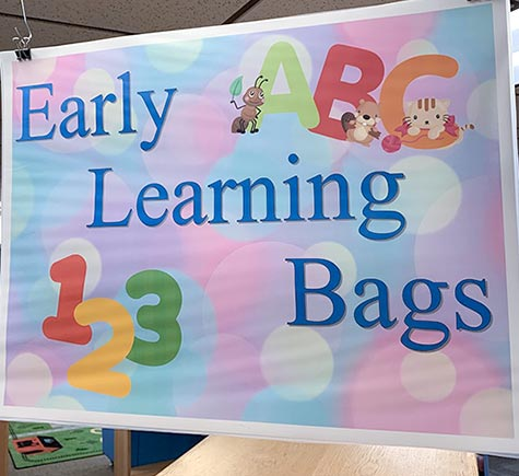 Early learning bags