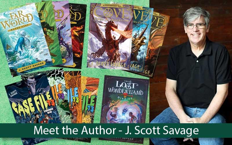 meet the author j scott savage