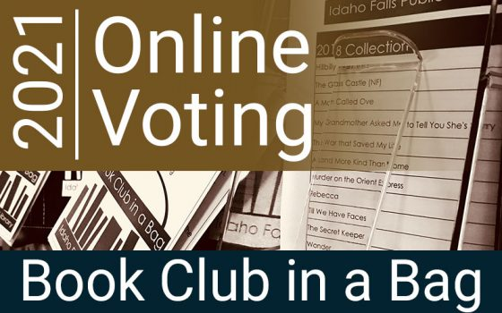 2021 online voting book club in a bag