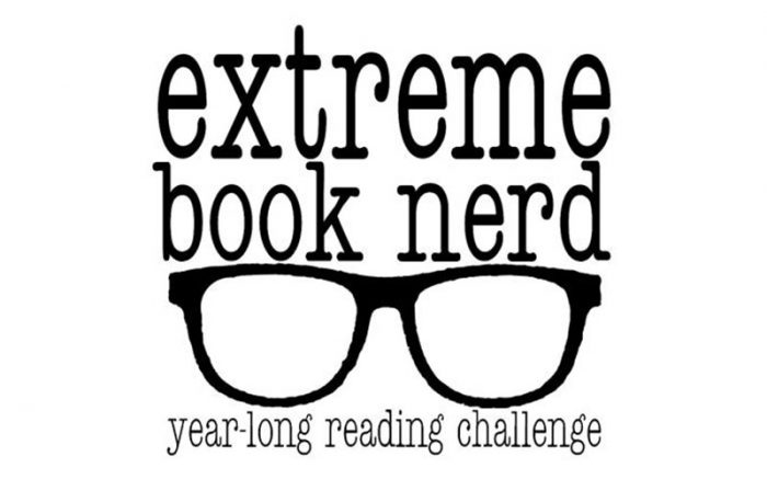 extreme book nerd logo
