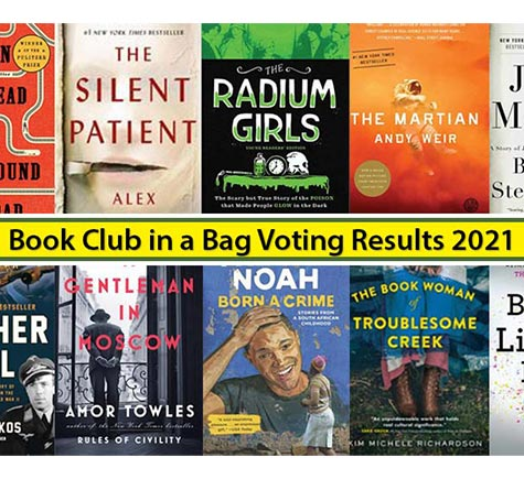 book club in a bag voting results