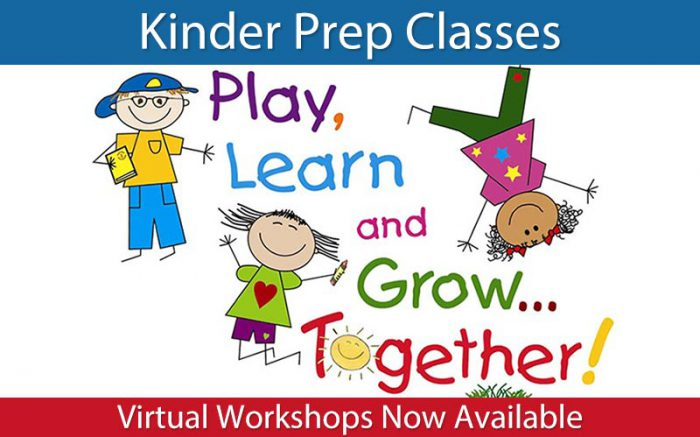 kinderprep classes virtual workshop now available
