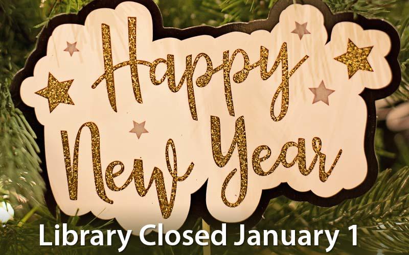 library closed january 1