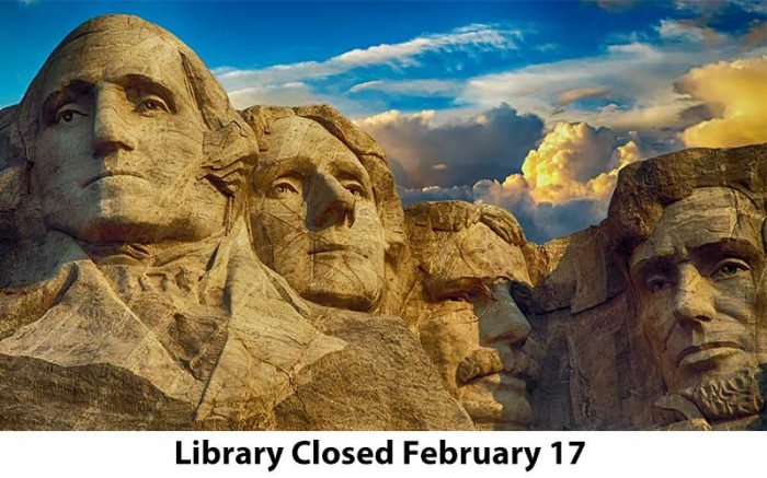 library closed february 17