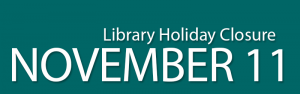 Library Closed for the Holiday