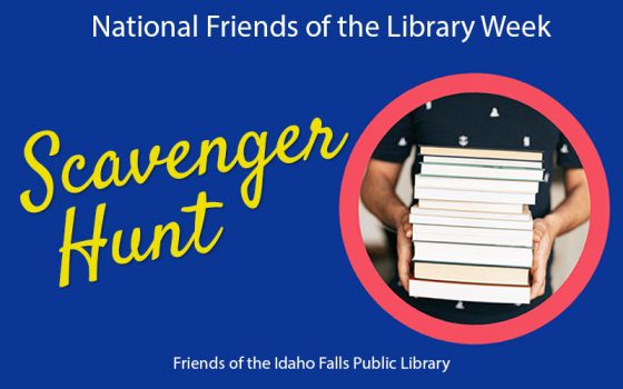 national friends of the library week scavenger hunt