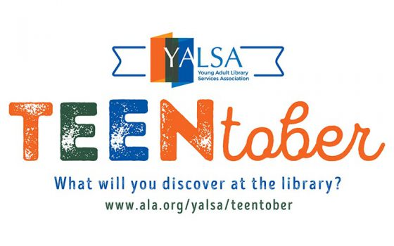 teentober what will you discover at the library?